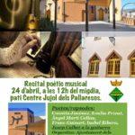 Concurs literari, recital poètic i concurs de dibuix als actes de Sant Jordi als Pallaresos