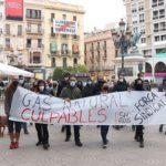Unes 50 persones protesten per la sentència del TSJC que anul·la la multa a Gas Natural pel cas de l'àvia morta a Reus
