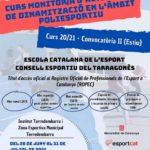 Torredembarra acollirà un curs de monitor d'activitats de dinamització en l'àmbit poliesportiu