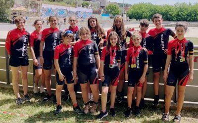 El Nàstic aconsegueix 21 medalles al campionat català de patinatge de velocitat