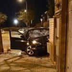 Col·lisió sense ferits d'un cotxe al carrer de Pintor Fuster de Reus