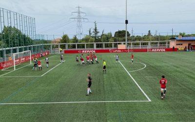 Victòria del CF Pobla de Mafumet davant l'Horta per 4 a 2 en un partit trepidant