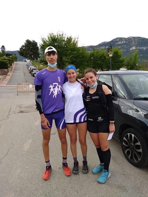 Dos podis del Club Atletisme Tarragona a l'Ultra Trail Serra del Montsant