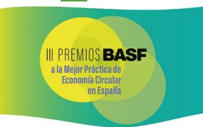 III Edició del premi BASF a la millor pràctica d'Economia Circular a Espanya