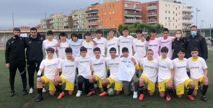 Mor als 16 anys el futbolista del Sant Pau que va patir una aturada cardiorespiratòria