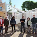 Inauguració del trasllat del transformador elèctric del barri Immaculada, projecte seleccionat dels Pressupostos Participatius