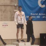 El jove salouenc Hugo Extremera es proclama campió de Catalunya d'Arts Marcials Mixtes (MMA) Amateur 2021