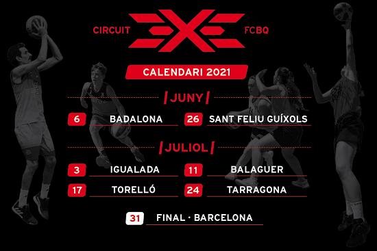 Tarragona, una de les seus de la 4a edició del circuit català de 3×3 de bàsquet