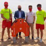 Les platges de Salou tindran un dron de rescat aquàtic