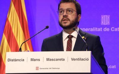 El govern català anuncia la finalització del toc de queda nocturn a partir de diumenge