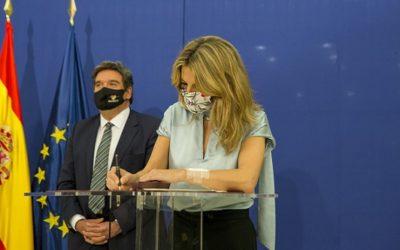 Díaz confirma que hi haurà una nova pròrroga dels ERTO: 'Vull enviar un missatge de tranquil·litat'