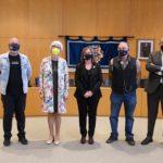 L'Ajuntament de Cambrils homenatja a tres treballadors i una treballadora que es van jubilar el 2020