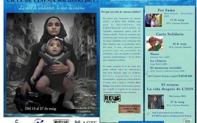 El tercer Cicle de Cinema Solidari de Cambrils se centra en els drets humans