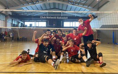 El cadet masculí del CV SPiSP es classifica per al Campionat d'Espanya