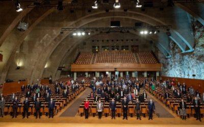 Cop d'efecte de Tarragona amb el suport de Brufau, Llardén i l'AMB a la Plataforma de l'Hidrogen Verd