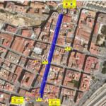Afectacions al trànsit per les obres de pavimentació carrer Apodaca