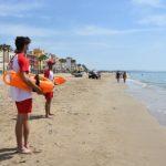 S'inicia el servei de vigilància i socorrisme a les platges torrenques de la Paella i de Baix a Mar