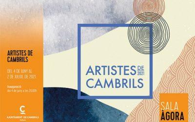 Més de 50 artistes de Cambrils exposen les seves obres a la Sala Àgora de l'Ajuntament