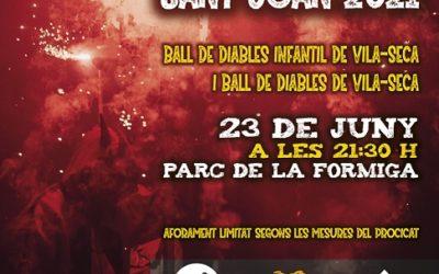 El Ball de Diables de Vila-seca torna als carrers i actuarà per la Revetlla de Sant Joan