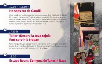 El Gaudí Centre comemorarà el dia 25 de juny l'aniversari del naixement del geni
