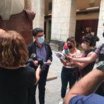 L'Ajuntament tanca el Teatre Tarragona pel risc de desprendiments al vestíbul