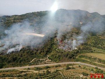 Detingut un home per provocar quatre incendis a la Selva del Camp