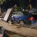 Accident entre dos cotxes a Reus que acaba amb un imputat per alcoholèmia