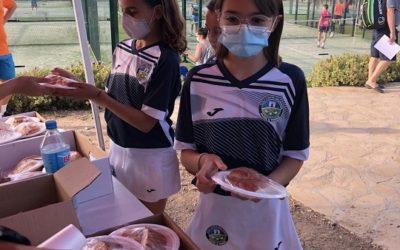 150 nens i nenes a la Festa de Fi de Curs de les Escoles de Pàdel i Tennisdel Golf Costa Daurada