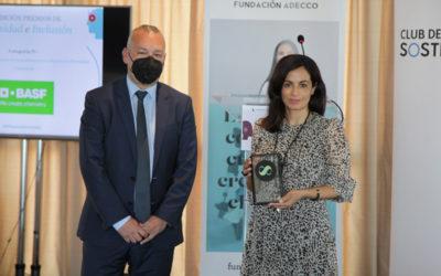 BASF Española, premiada per la seva cultura de transformació en diversitat i inclusió