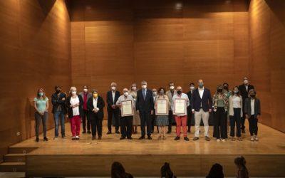 Ricomà atorga les distincions al Mèrit Cívic a Cristòfol Conesa, Meritxell Gispert i Francisco Andrés Pérez