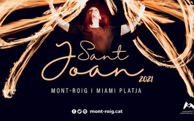 Torna la celebració de Sant Joan amb dos espectacles de foc a Mont-roig i a Miami Platja