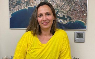 Núria Obiols, cap de departament d'Operacions Portuàries del Port