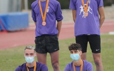 Un bronze i un cinquè lloc del CA Tarragona al Campionat de Catalunya de relleus sub18
