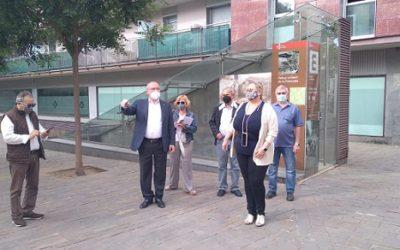 Treballs de millora a la plaça de la Patacada, fruit del programa de proximitat de l'alcalde