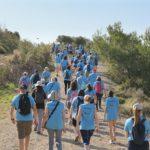 Èxit de participació a la Caminada Popular al voltant de la Ruta de l'aigua
