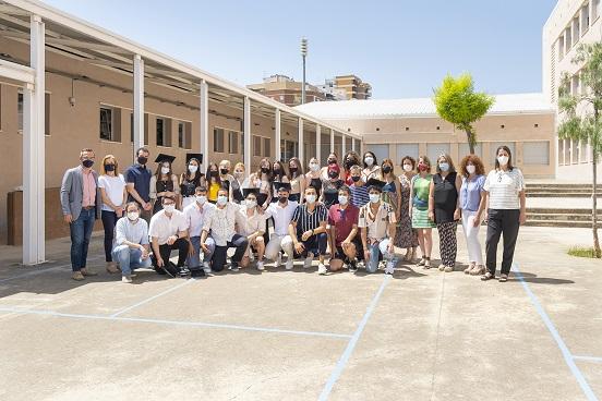 L'Institut de Constantí celebra l'acte cloenda de curs i inicia la matriculació per al curs 2021-22