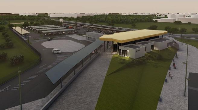Adif AV licita les obres de construcció de la nova estació de Salou-Port Aventura