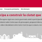 Dimarts comença la votació dels pressupostos participatius de Tarragona