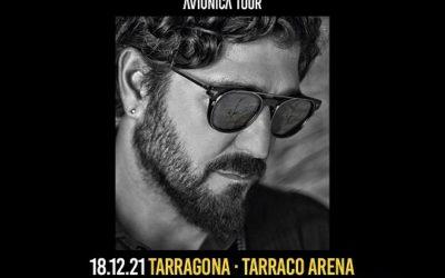 Antonio Orozco tocarà a la Tarraco Arena el 18 de desembre