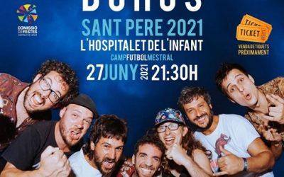Buhos actuarà a l'Hospitalet de l'Infant el proper 27 de juny