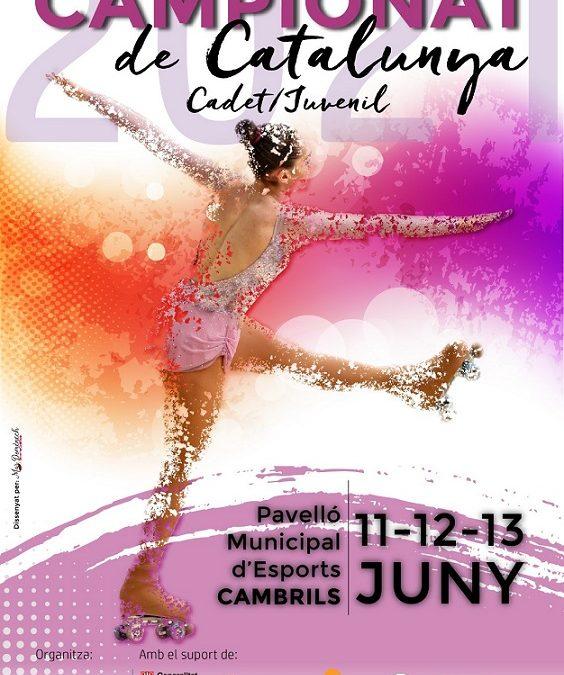 Cambrils acull el Campionat de Catalunya de Patinatge Artístic