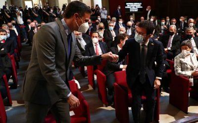 Sánchez i Aragonès es reuniran a la Moncloa el pròxim dimarts 29 de juny a les 17h