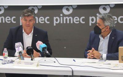Pimec considera que l'ampliació de l'aeroport del Prat farà que els de Reus i Girona tinguin més trànsit