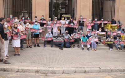 L'activista Lluís Pastrana apel·la a la llibertat d'expressió per la pancarta que va penjar contra els Mossos