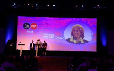 Emotiu homenatge a Montserrat Carulla en l'acte inaugural del FIC-CAT