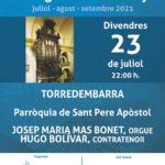 AGENDA: Torredembarra obre aquest divendres el 41è Cicle Els Orgues de Catalunya