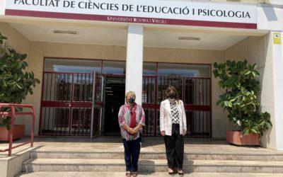 La consellera d'Universitats visita la URV i recull les demandes en inversions i personal