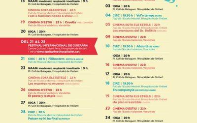 Vandellòs i l'Hospitalet de l'Infant ofereix una agenda d'actes molt completa aquest estiu