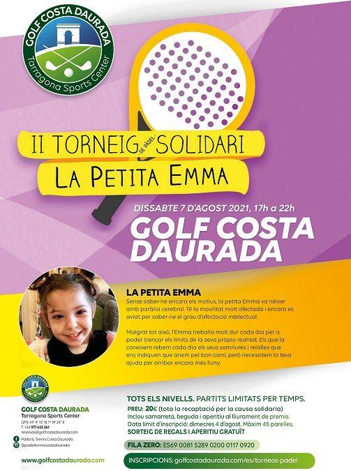 El Golf Costa Daurada acollirà el 7 d'agost el Torneig Solidari la Petita Emma