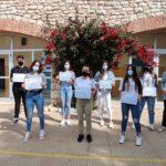 Alumnes del Col·legi Sant Pau estudien la qualitat de l'aire del centre en un projecte conjunt amb la URV